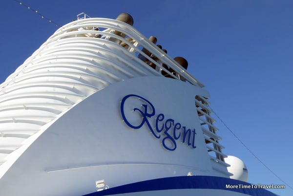 Stack on the Regent Seven Seas Mariner