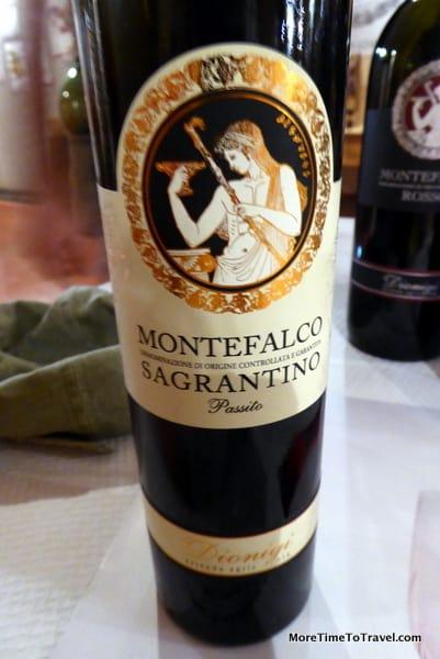 Bottle of Dionigi Montefalco Sagrantino Passito DOCG
