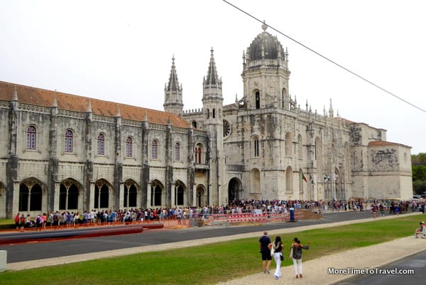 The Jeronimos Monastery in Belem, Lisbon, a UNESCO World Heritage Site