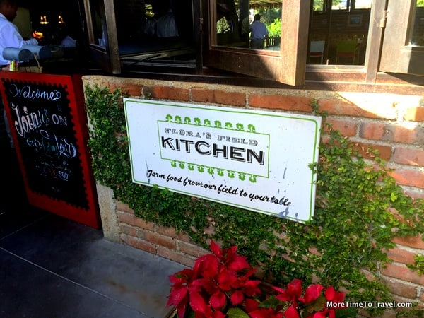 Entrance to the Field Kitchen