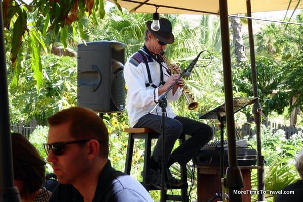 Jazz instrumentalist