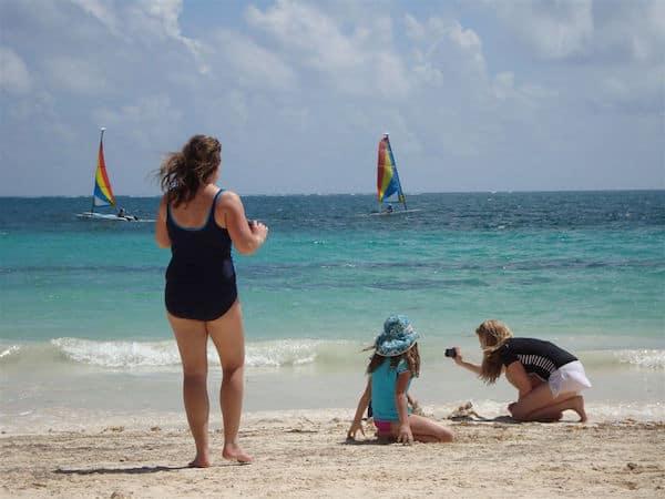 Fun on the beach at Dreams Riviera Cancun