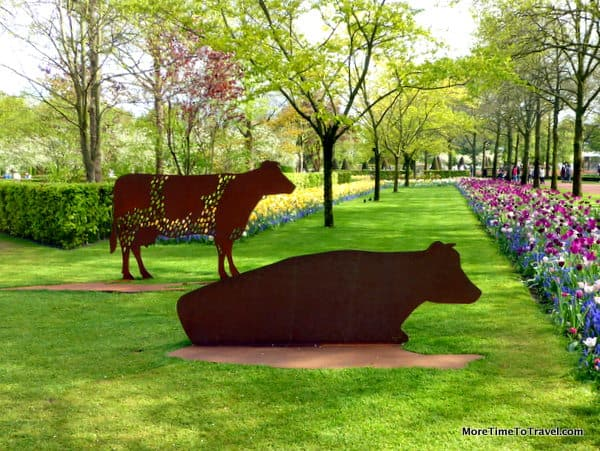 Sculptures in the Gardens