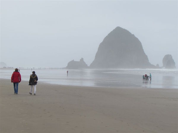 Haystack Rock in Astoria
