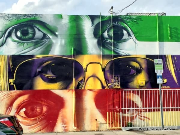 Wall Mural at Wynwood Arts District