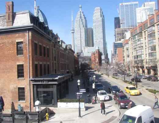 View of Toronto: Old and New from St. Lawrence Market