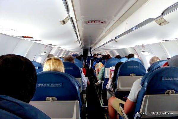 2x2 Seat configuration
