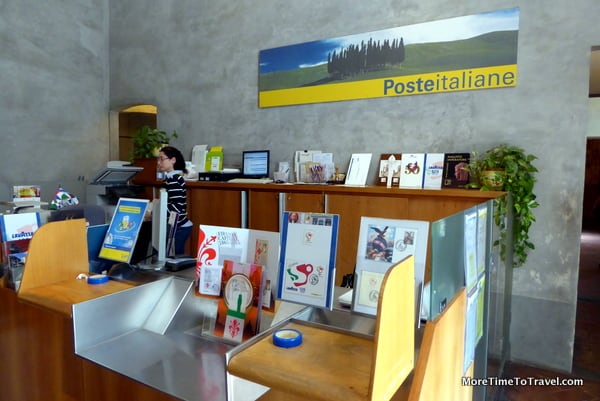 Post Office at the Uffizi