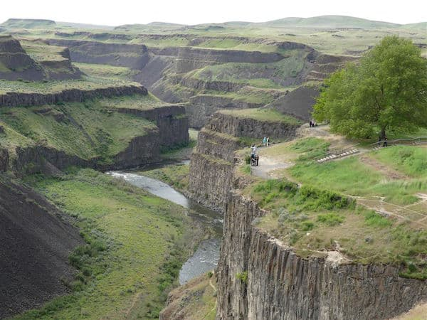 Palouse State Park Canyon