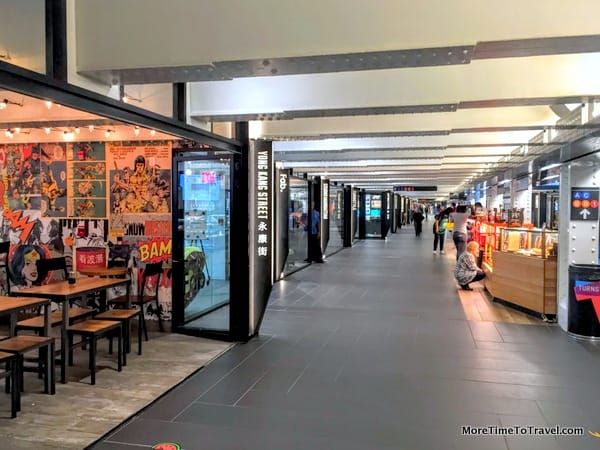 Turnstyle, the food hall under Columbus Circle