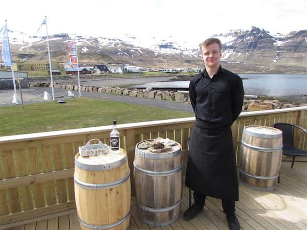 West Iceland pre-lunch specialties