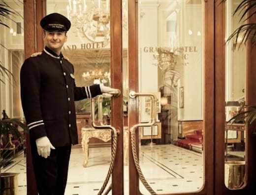 Entry to the hotel (Photo courtesy Duetorrihotels)