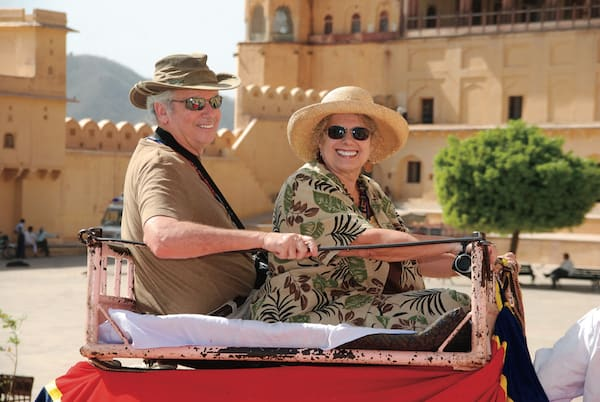 Amber Fort elephant ride (Photo Credit: Vantage Excursions)
