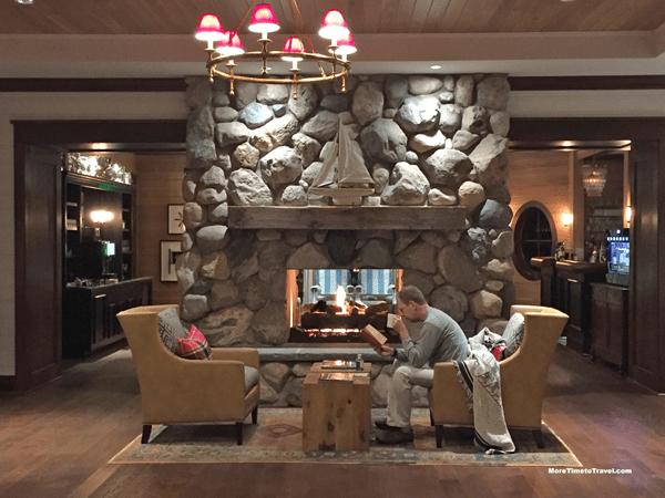 A little fireside reading.