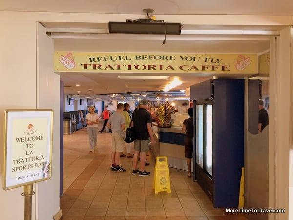 Trattoria Caffe at Bermuda Airport