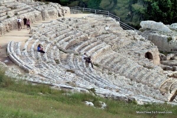Greek Theater in Siracusa