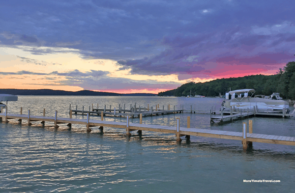 Another gorgeous Walloon Lake sunset.