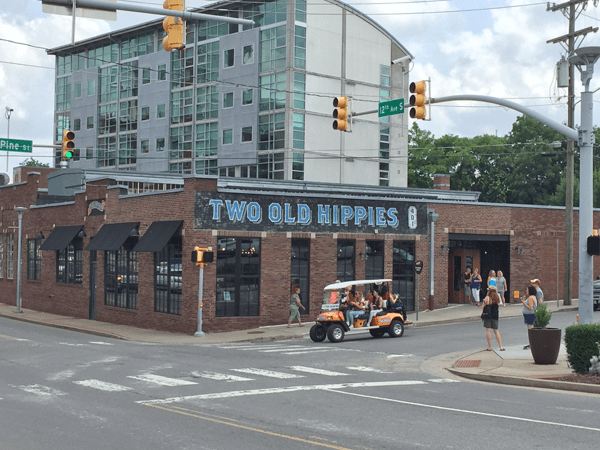 Two Old Hippies emporium, in the upscale Gulch neighborhood.
