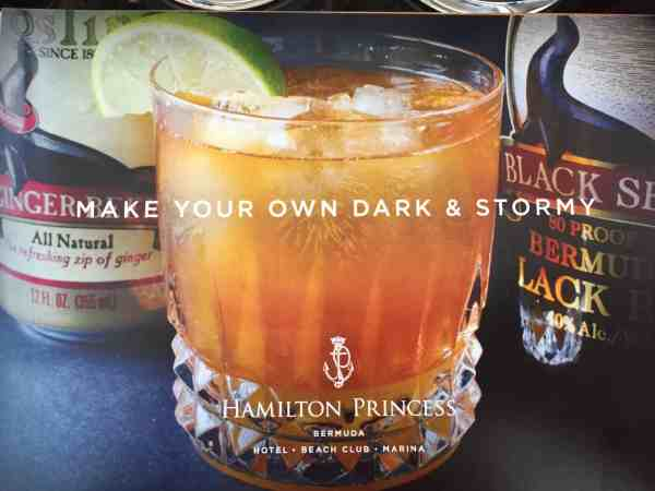 Dark 'n Stormy: Simple but delicious