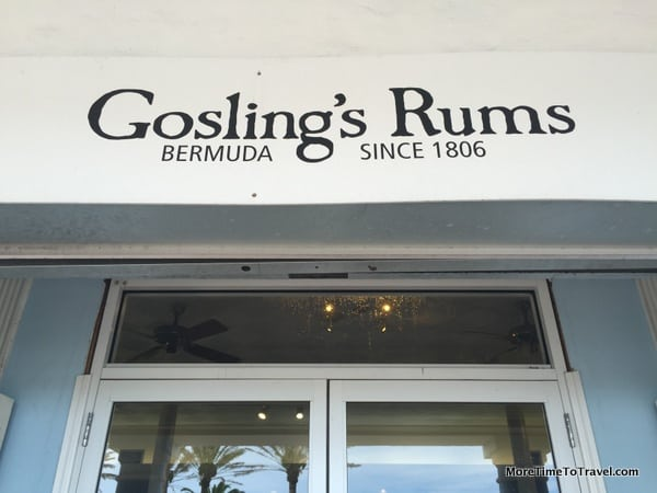 Gosling Store on Front Street in Hamilton