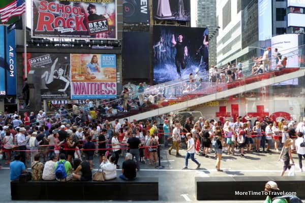 The bustle of Broadway