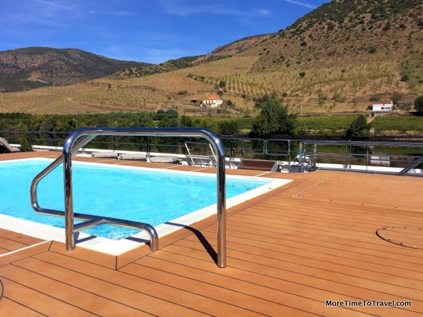 Pool on the top deck