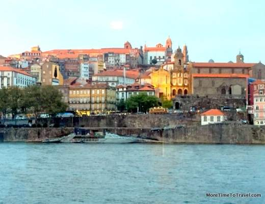View of Porto from the Viking Torgil