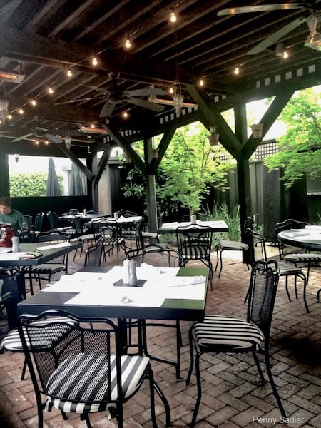 The Patio at Evangeline