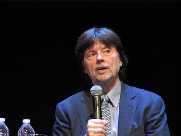 Ken Burns talks at the Chicago Tauck Event