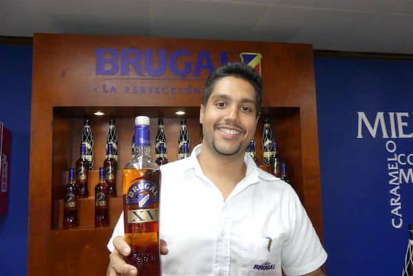 Our guide on the Brugal rum tour