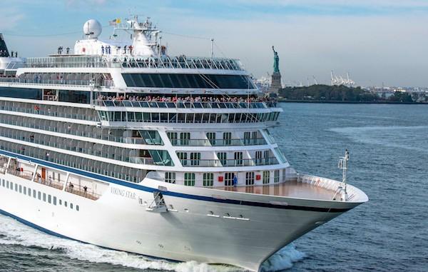 Viking Star makes its approach to NY Harbor (Credit: Viking Star)