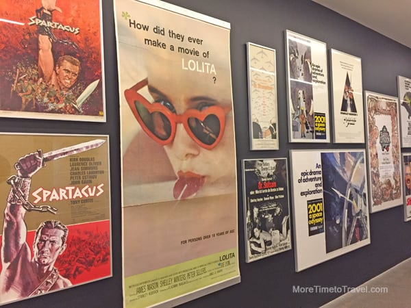 Kubrick was heavily involved with his films' poster designs.