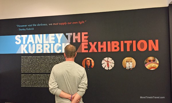 A very creative exhibit with annotated scripts and film clips.