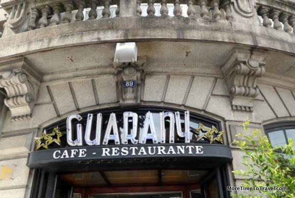 Exterior facade of Guarany