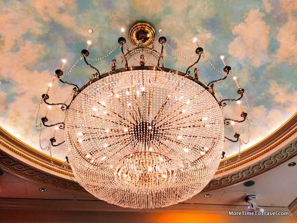 Chandelier in the Grand Salon