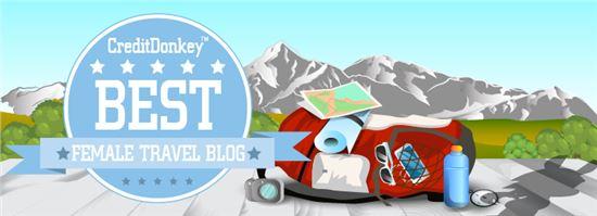 Credit Donkey Best Female Travel Blog