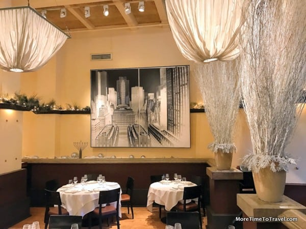 City art on display at Gotham Bar and Grill
