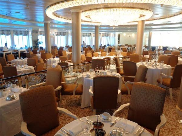 Grand Dining Room on Oceania Marina
