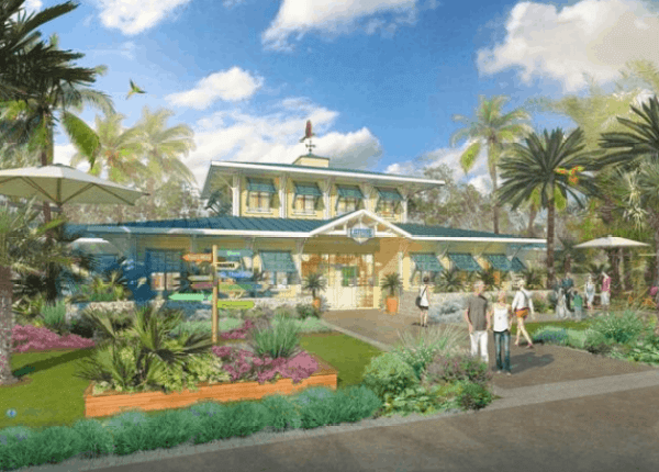 Artist rendering of Margaritaville