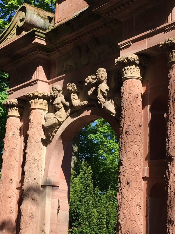 Heidelberg Castle Gate