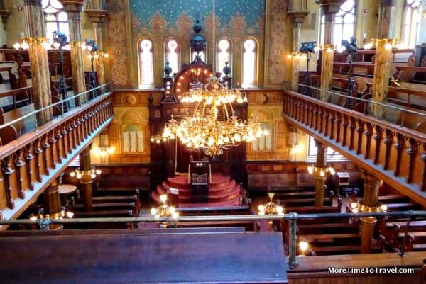 Sanctuary at the Eldridge Street Synagogue