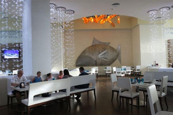 Imaginative design at Under the Sea Restaurant