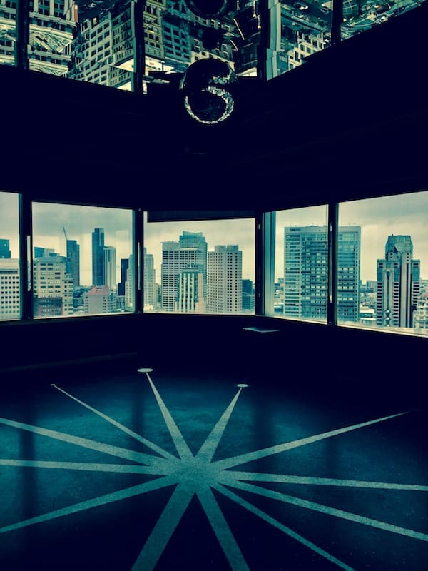 Get a good glimpse of the city at the Starlight Room (Credit: M. Ciavardini)