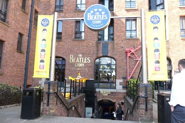 Motoring through Britain: Entrance to the Beatles Story