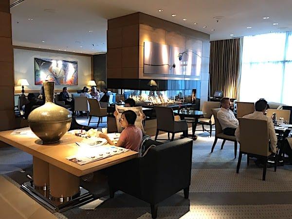 Intimate lobby Lounge (Credit: Jerome Levine)