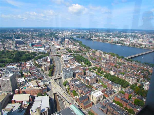Boston: The View from the Prudential Tower