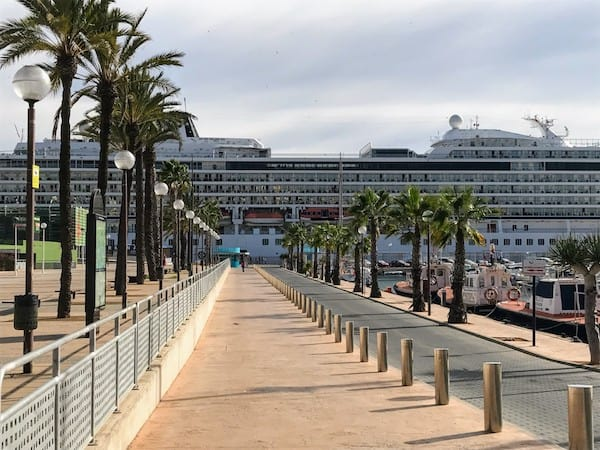 Port of Cartagena Spain