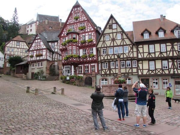 Medieval Miltenberg, Germany