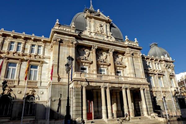 City Hall in Cartagena, Spain