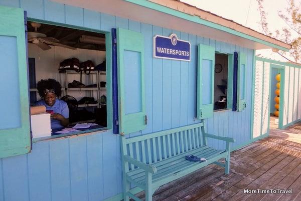 Watersport shack